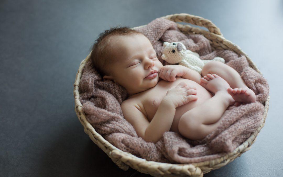 Neugeborenenfotos von Pia 10 Tage alt