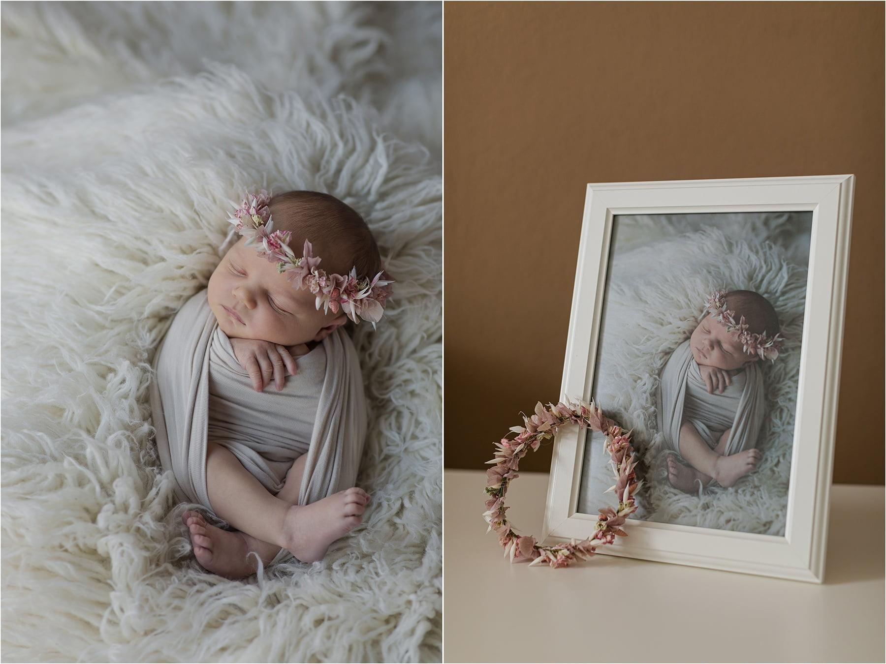 Blumenkranz für Baby