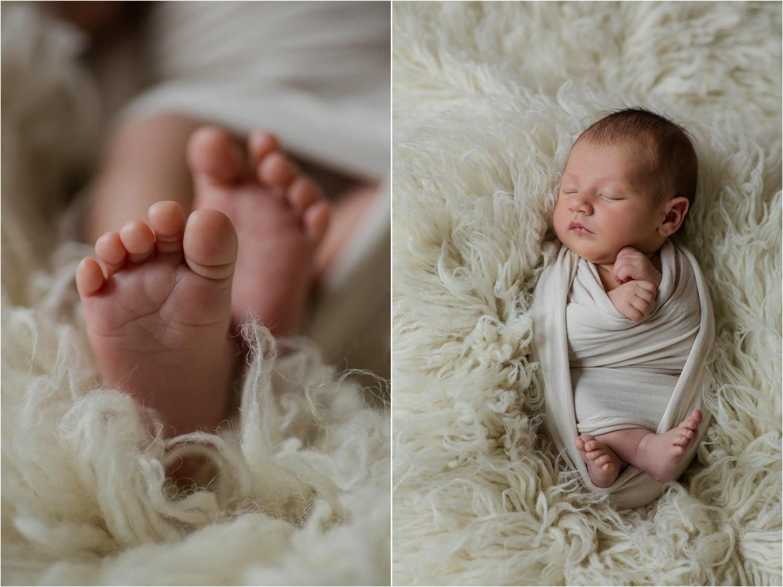 Neugeborenenfoto in Coesfeld