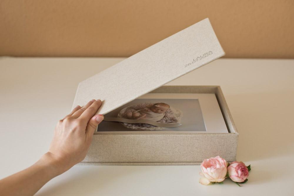Erinnerungsbox mit Lieblingsbildern
